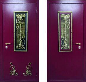 Дверь металлическая «Элегия»
