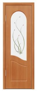 Межкомнатная дверь «Анастасия» со стеклом