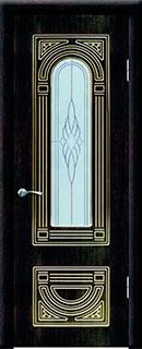 Межкомнатная дверь «Аврора» со стеклом
