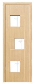 Межкомнатная дверь со стеклом «Белла»