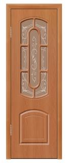 Межкомнатная дверь «Элегант» со стеклом