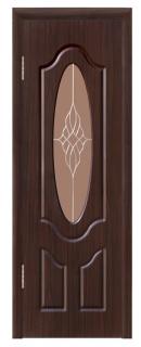 Межкомнатная дверь «Флоренция» со стеклом