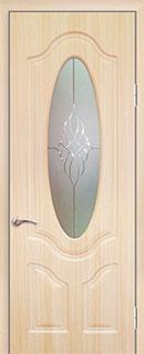 Межкомнатная дверь «Глория» со стеклом