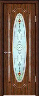 Межкомнатная дверь «Греция» со стеклом
