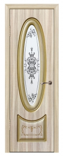 Межкомнатная дверь «Империя» со стеклом