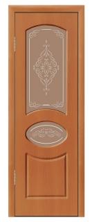 Межкомнатная дверь «Каролина» со стеклом