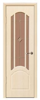 Межкомнатная дверь «Лоза» со стеклом