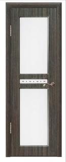 Межкомнатная дверь со стеклом «Люси №2»