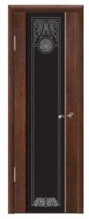 Межкомнатная дверь со стеклом «Люкс №10»