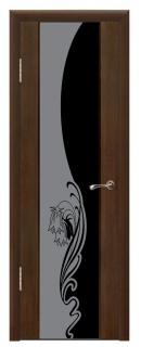 Межкомнатная дверь со стеклом «Люкс №12»