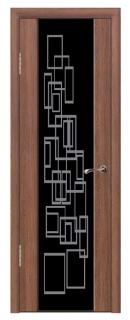 Межкомнатная дверь со стеклом «Люкс №16»