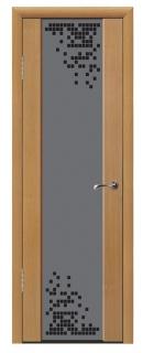 Межкомнатная дверь со стеклом «Люкс №18»