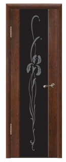 Межкомнатная дверь со стеклом «Люкс №19»