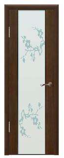 Межкомнатная дверь со стеклом «Люкс №5»