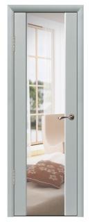 Межкомнатная дверь с зеркалом «Люкс №6»