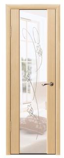 Межкомнатная дверь с зеркалом «Люкс №7»