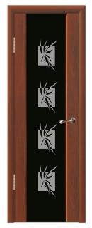 Межкомнатная дверь со стеклом «Люкс №9»