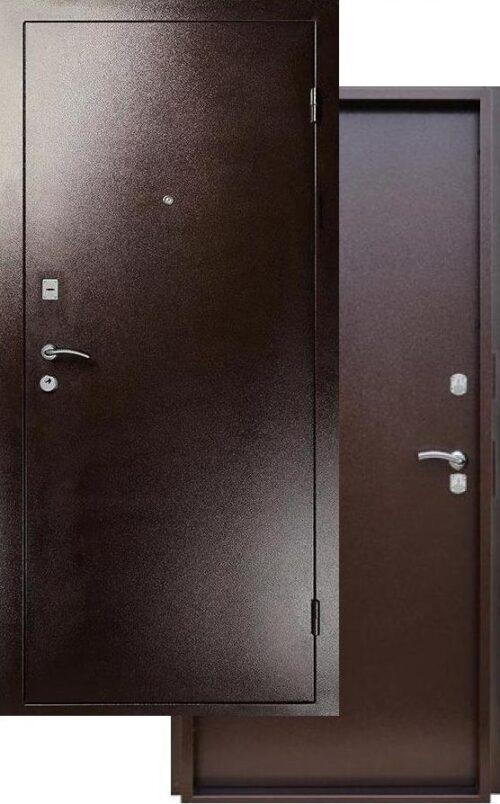 Входная стальная дверь «Металл/металл»