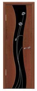 Межкомнатная дверь с непрозрачным стеклом «Мираж»