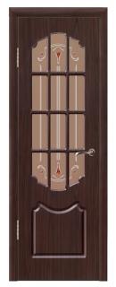 Межкомнатная дверь «Натали» со стеклом