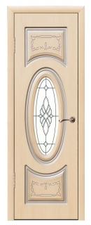 Межкомнатная дверь «Неаполь» со стеклом
