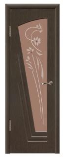 Межкомнатная дверь со стеклом «Парус»