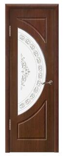 Межкомнатная дверь со стеклом «Сфера»