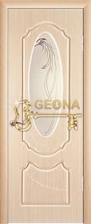 Межкомнатная дверь «Венеция» со стеклом