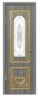 Межкомнатная дверь «Виктория» со стеклом