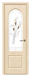 Межкомнатная дверь «Вирджиния» со стеклом